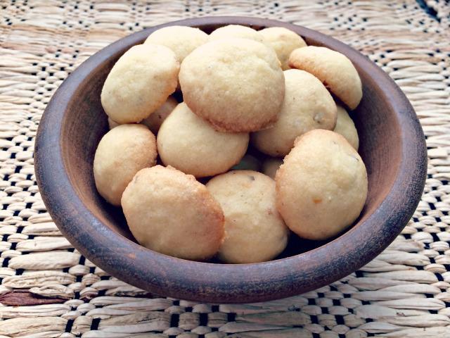 Biscoitos de castanha do Pará