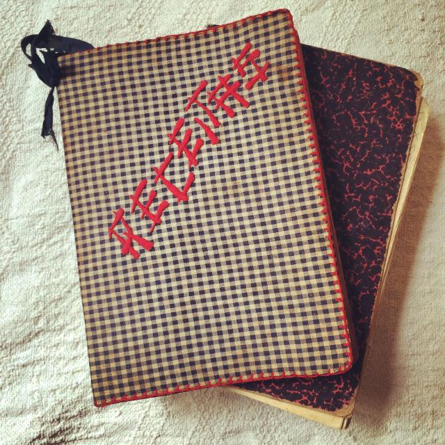 Cadernos de receitas da Vó Viquinha