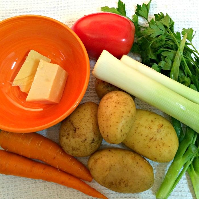 Ingredientes da Sopa Walita
