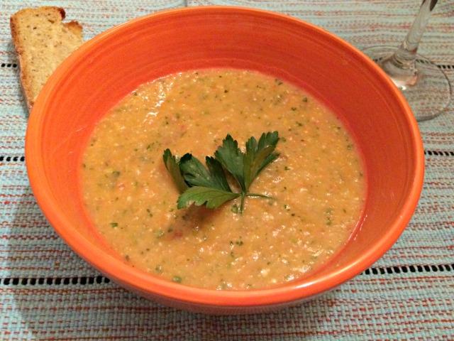 Sopa Walita - sopa morna de vegetais - Foto O Caderno de Receitas