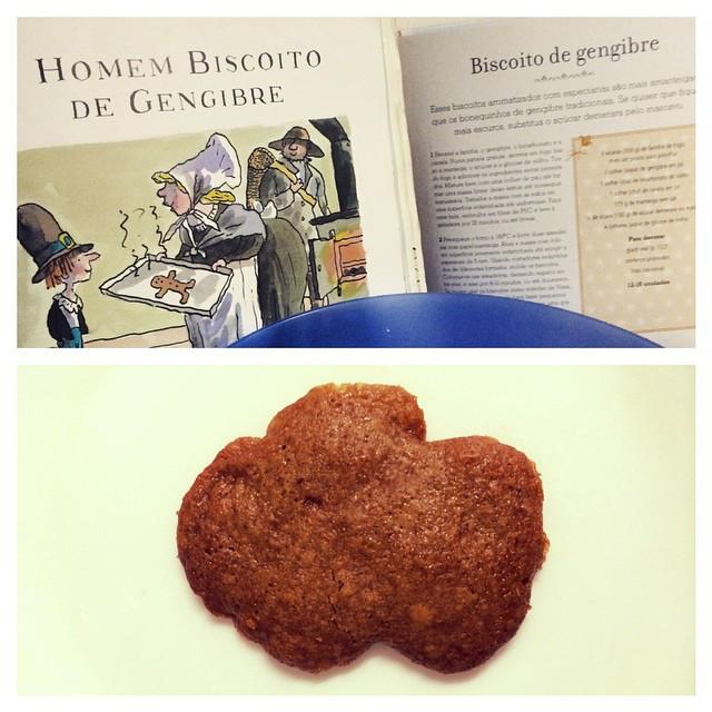 História do Homem Biscoito de Gengibre e receita que deu errado