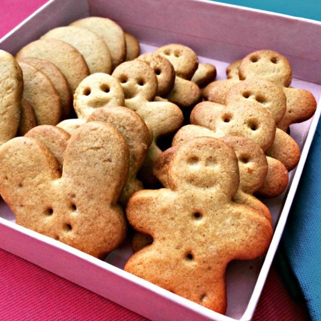 Biscoitos de gengibre - O Caderno de Receitas