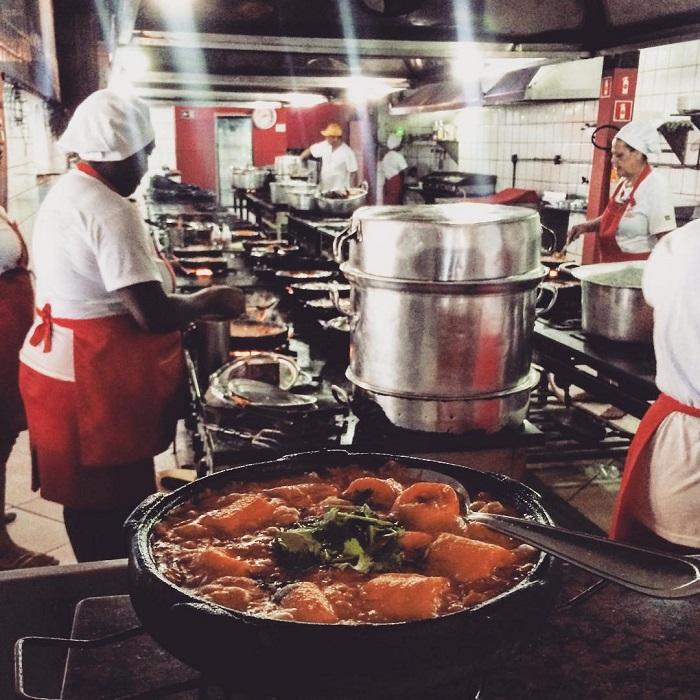 Cozinha do Cantinho do Curuca