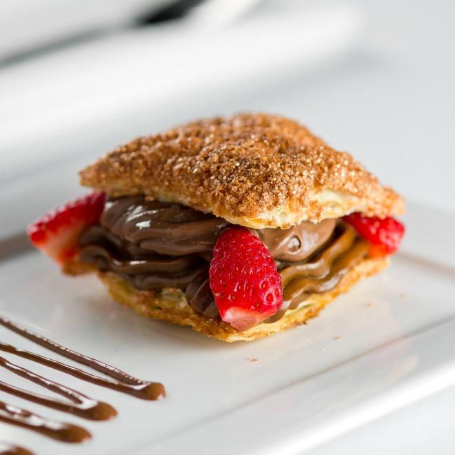 Napoleão de chocolate (foto: divulgação)