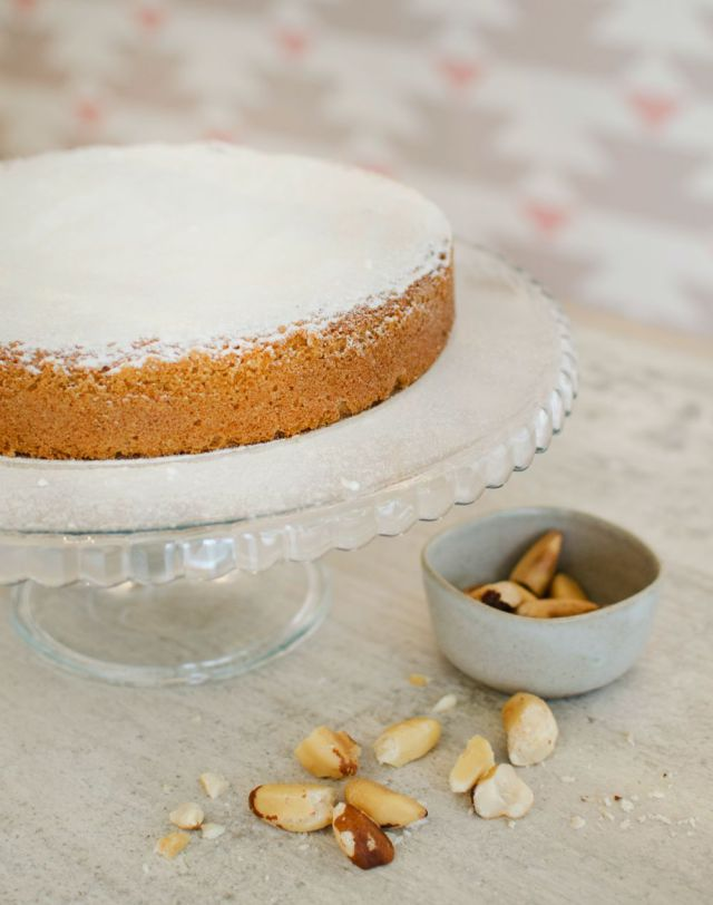 Torta de castanha -do-pará da doceira Marilia Zylbersztajn (foto: divulgação)