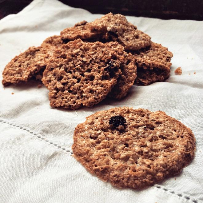 Biscoitos de aveia e passas (foto: O Caderno de Receitas)