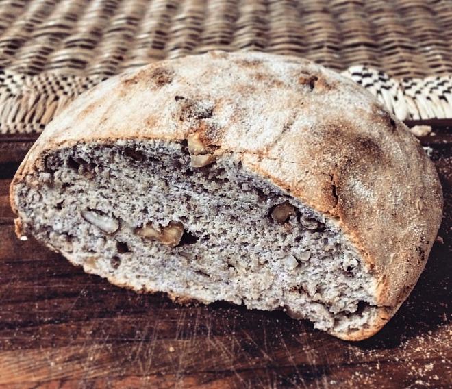 Pão integral de nozes e castanhas (foto: O Caderno de Receitas)
