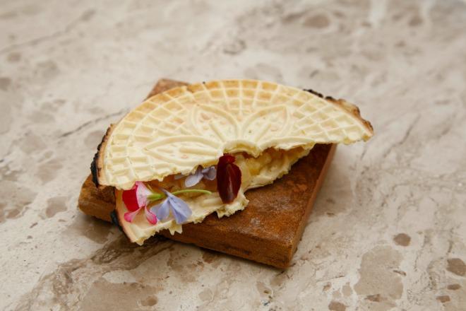 Aqui a compota de abacaxi virou recheio de biscoito (foto: divulgação)
