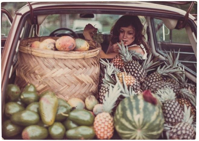 Beth, mãe de Gabriela, em foto tirada em Descalvado em 1983 (foto: Como Cozinhar Sua Preguiça)