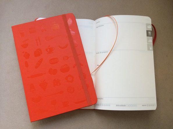 Caderno de receitas à venda na loja O Caderno de Receitas