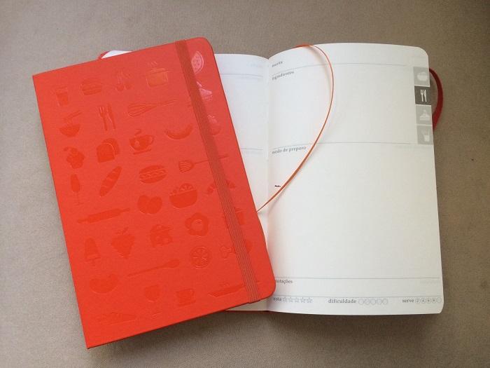 caderno de receitas capa dura