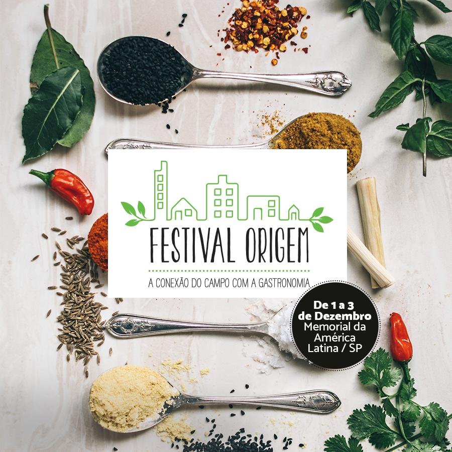 Festival Origem- A Conexão do Campo com a Gastronomia