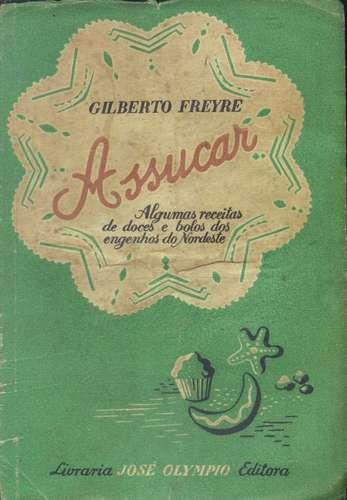 Livro Assucar, de Gilberto Freyre