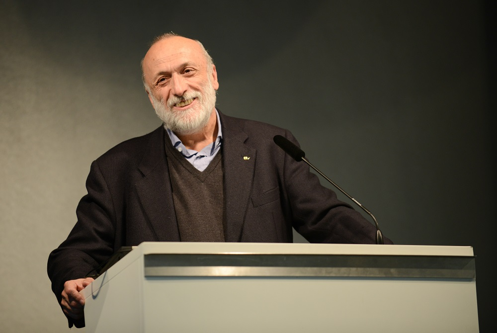Carlo Petrini, fundador do Slow Food (foto: Janne Tervonen)
