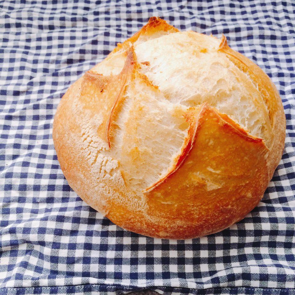Pão de fermentação natural (Foto: O Caderno de Receitas)