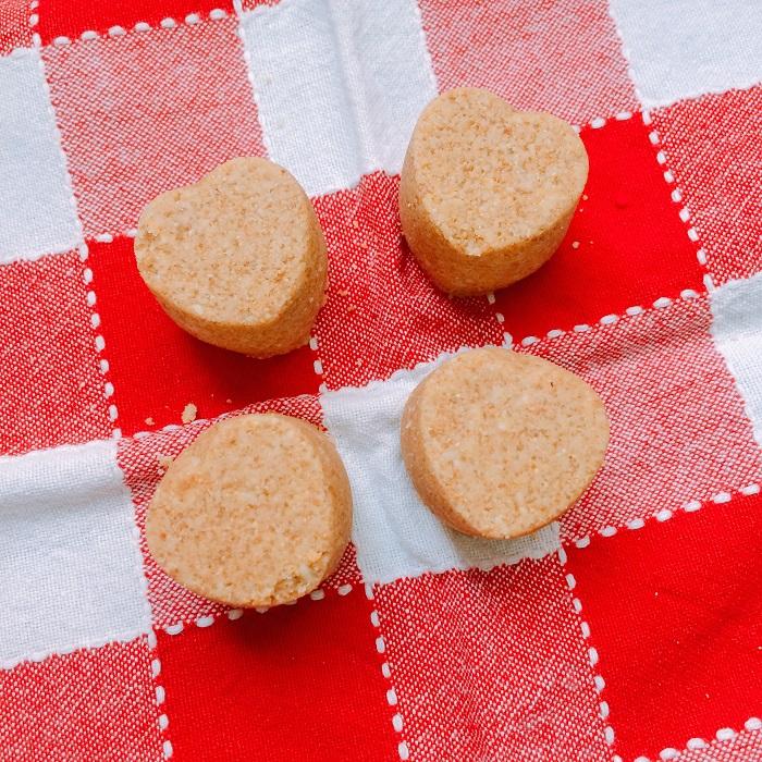Paçoca de amendoim feita em casa (foto: O Caderno de Receitas)