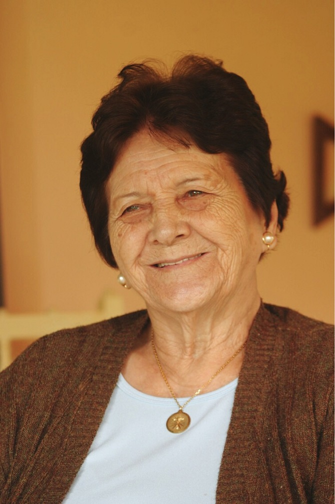 Maria Aparecida Lordello Teixeira, a Maricota