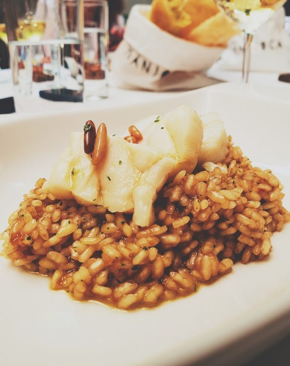 Arroz de bacalhau do Maní